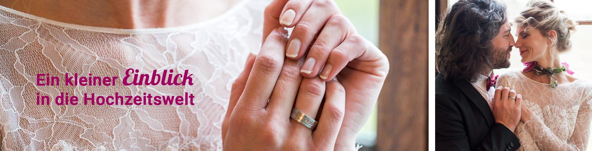Ein kleiner Einblick in die Hochzeitswelt